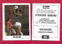 Charlton Athletic Bob Bolder 36